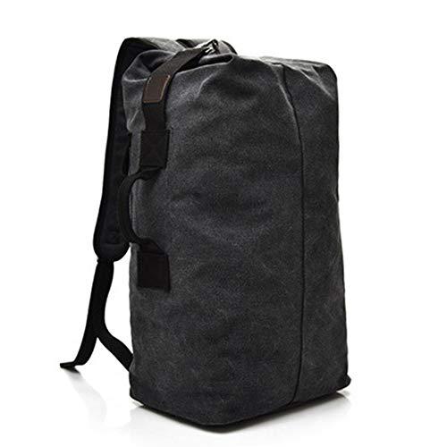 JEANS Mochila, ocio, bolsa de lona, al aire libre, deportes, escalada, A0003, negro