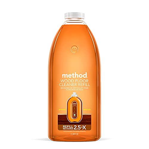 Method Hardwood Floor Cleaner, Squirt + Mop Refill, Use as...