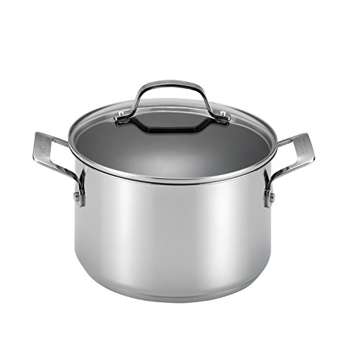 Circulon 77883 Genesis Stainless Steel Dutch Oven, 5 Quart