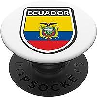 Bandera Ecuador PopSockets PopGrip Intercambiable