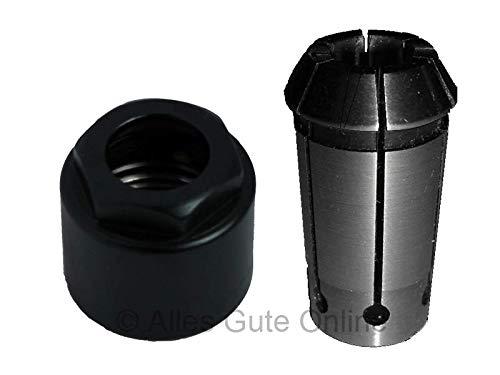 Überwurfmutter für KRESS Fräsmotor FM(E)1050 -FEHLPRODUKTION- + Spannzange d=06,35mm (1/4
