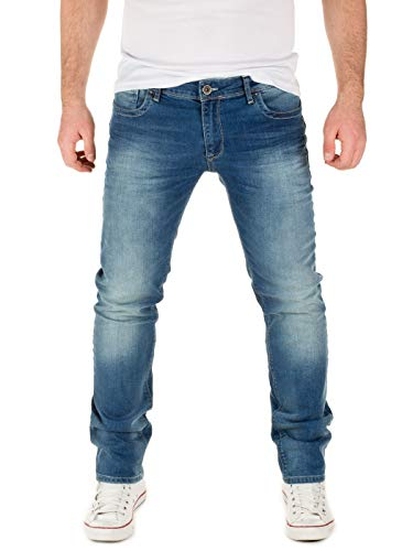 WOTEGA Herren Jeans Pete Slim, Blue (Dark Denim 194118), W34/L32