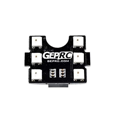 Accessori Drone GEP-LED6-B 6 Bit WS2812B Coda Circuito LED con cicalino for RC FPV Corsa Drone GEP-AX GEP-IX