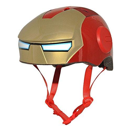 marvel motorcycle helmets BELL Marvel Iron Man Hero Helmet, Red , Child (5-8 yrs.)