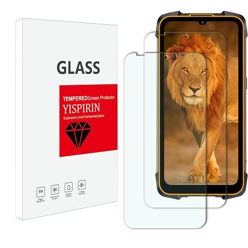 YISPIRIN Protector de pantalla de cristal templado para Cubot Kingkong 5 Pro, dureza 9H, antiarañazos, sin burbujas, protector de pantalla para Cubot Kingkong 5 Pro