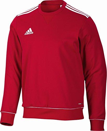 Adidas Core11 Men's Shirt Rouge Rouge uni/Blanc 10