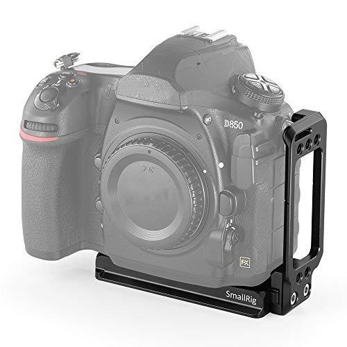 SMALLRIG Nikon D850専用L-ブラケット Nikon D850対応-2232