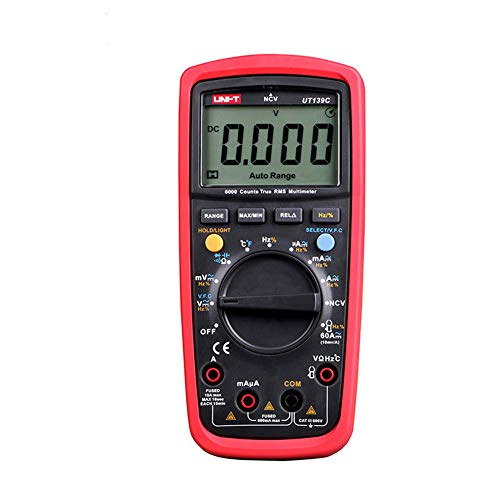 UT139 Serie Digital Multimeter, UT139A UT139C True RMS Meter Handheld Tester 6000 Count Voltmeter Temperatur-Tester Meters,UT139C