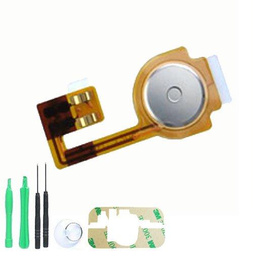 Ersatz-Set mit Home-Button inkl. Montageanleitung für iPhone 3GS 8GB / 16GB / 32GB