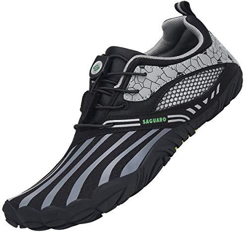 SAGUARO Zapatillas de Minimalistas Hombre Mujer Zapatillas de Deporte Exterior Interior para...
