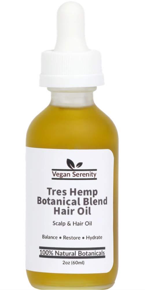 Vegan Serenity Natural Hair Growth Botanical B Très safety Hemp Oil: Max 41% OFF