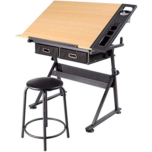 Jennles Professional A3 Drawing Table Technical Board with Drawing Head Machine