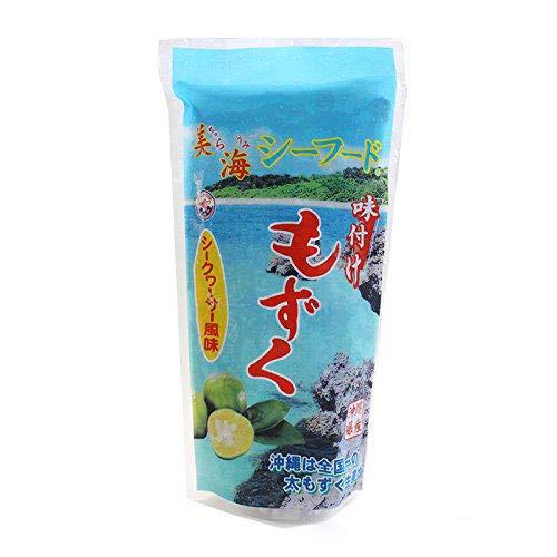 沖縄県産 味付け もずく シークヮーサー風味 300g×5P 丸昇物産