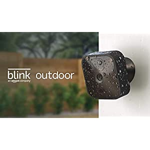 Blink Outdoor – wireless, weather-resistant HD security camera, two-year battery life, motion detection, set up in…