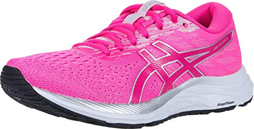 ASICS Women's Gel-Excite 7 Running Shoes, 8, Pink GLO/White