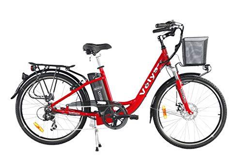 Velys - Vélo électrique Mixte Premium 37 V 9,4 Ah Roues de 26 Pouces - 40 Km d'autonomie