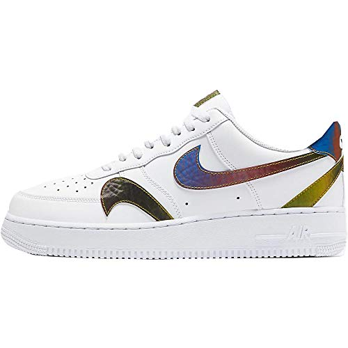 Nike Air Force 1 '07 LV8 2, Zapatillas de básquetbol Hombre, White Multi Color White, 46 EU