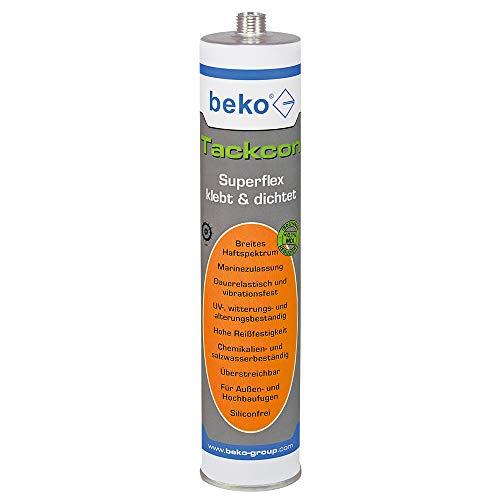Beko Tackcon Hightec-lim 310 ml grå Shore 45