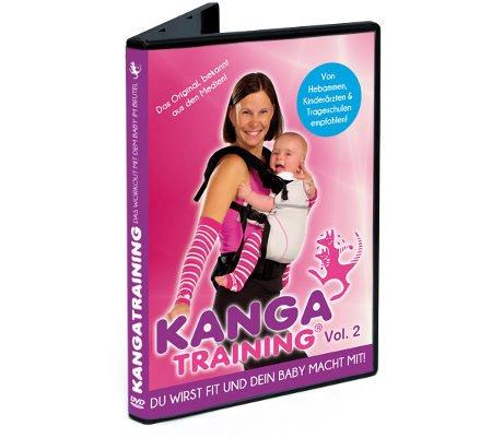 DVD Kangatraining Vol. 2 - Kanga Fitnessvideo für Eltern mit Baby in Babytrage