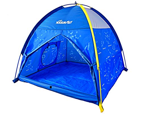 NARMAY Play Tent Twinkle Zodiac Dome Tent for Kids Indoor / Outdoor...