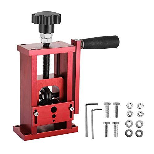 Mophorn 1,5-20mm Kupferdraht Abisoliermaschine 1 Klinge Abisolierzange Schrott Recycling Abisolierwerkzeug Manuell & Halbautomatisch (HXSD-025)