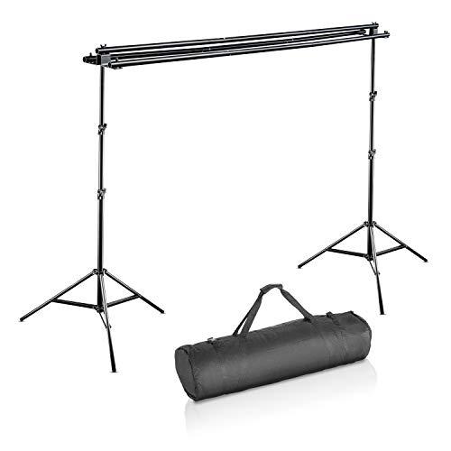 Walimex Pro 3-fach Hintergrund system und Tasche (290 cm)