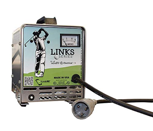 Lester Link Series 48 Volt Golf Cart Battery Charger for 1995-2013 Club Car PowerDrive & IQ Golf Carts