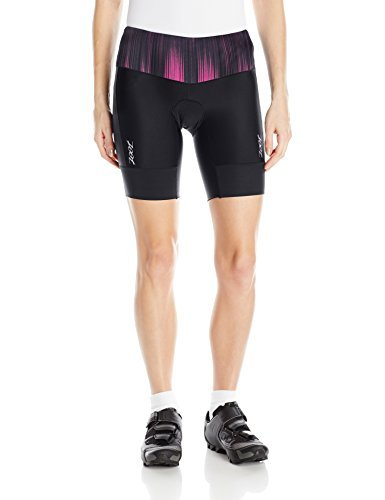 "Zoot Sports Women's Performance Tri 8"" Shorts, Good Vibes, Small"