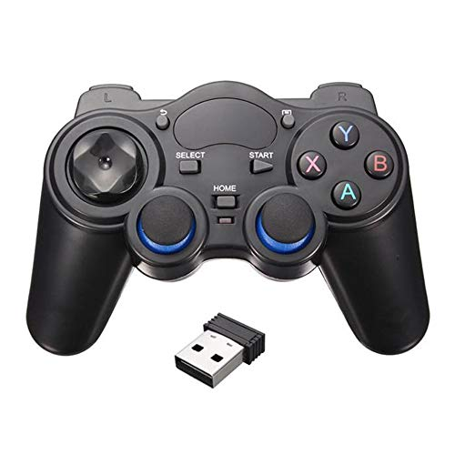 Teléfono inteligente inalámbrico mango Gamepad para teléfono Android/PC PC/PS3/TV caja Joystick 2.4G Joypad juego remoto pad