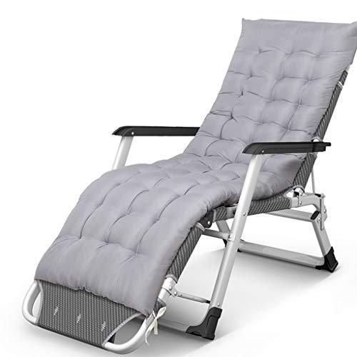 Lit pliant simple bureau bureau déjeuner pause siesta lit lit d'appoint lit d'appoint maison portable coton pad, détachable (Couleur : Gray)