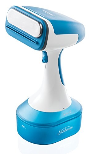 Sunbeam Handheld Garment Travel Steam Press for Clothes, Bedding, Fabric , Odor removing, Dust...