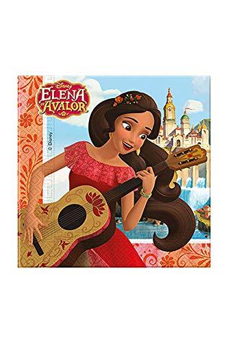 Elena de Ávalor-87468 Elena de Ávalor Accesorio, Color rojo (Procos 6887468)