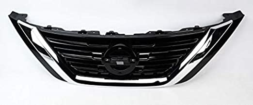 Front Grille for Nissan Altima | 2016 2017 2018 | ABS Chrome Replaces NI1200283 | by JX Accessories