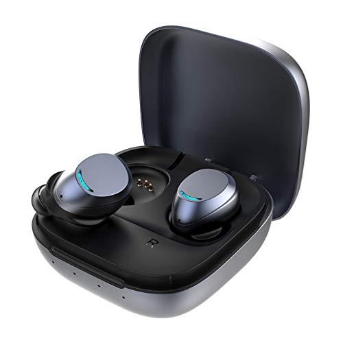 ZHHAOXINBT Bluetooth hoofdtelefoon in het oor, draadloze hoofdtelefoon sport-waterdicht, 8 uur draadloze hoofdtelefoon met microfoon, HD stereo draadloze oordopjes, noise cancelling