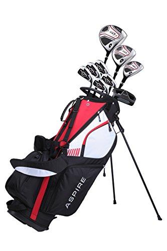 Aspire XD1 Men's SENIOR ALL GRAPHITE Complete Golf Clubs Package Set