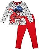 Miraculous Ladybug Ensemble Pyjama en Coton pour Fille - Multicolore - Medium