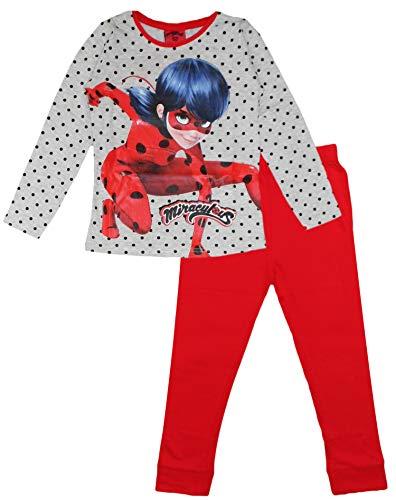 Miraculous Ladybug Schlafanzug, Rot, 5-6 Jahre