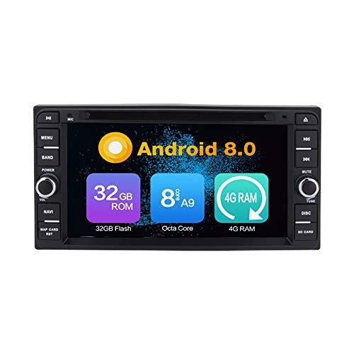 Android 10.0 Stéréo DVD 4G Ram 64G Rom PourCorolla 2000-2006 Vitz Echo 2005-2011 Corolla EX 2000-2006 VIOS 2003-2010 HILUX 2001-2011 Terios 2006-2010 Land Cruiser 100 Series 1998-2007 Prado 1996-2009