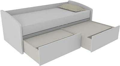 MOBILFINO CAMERETTE 600C - Sofá cama con forma contorneada ...