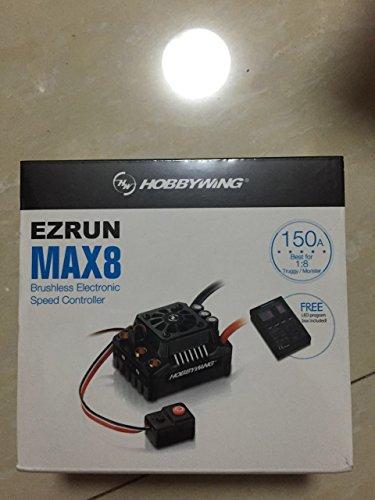 HW103200 - Hobbywing Ezrun BL ESC MAX8 V3 150A (3-6S) 1/8