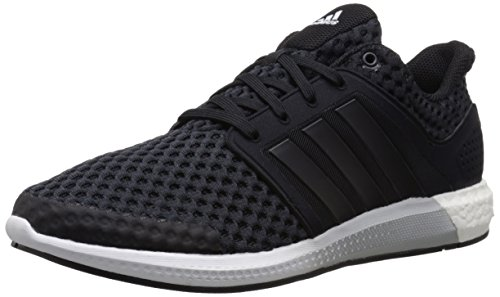 adidas Performance Men's Solar RNR M Running Shoe,Black/Black/Clear Onix Grey/Grey,11.5 M US