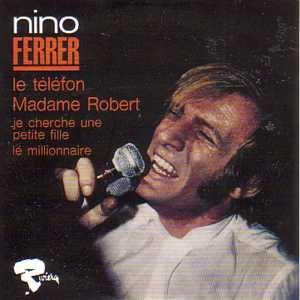 Nino FERRER Le téléfon 4-TRACK CARD SLEEVE Edition limitée numerotée CD single