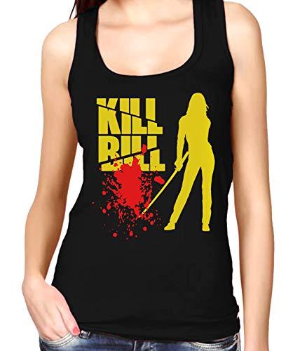 Desconocido 35mm - Camiseta Mujer Tirantes Kill Bill - Tarantino