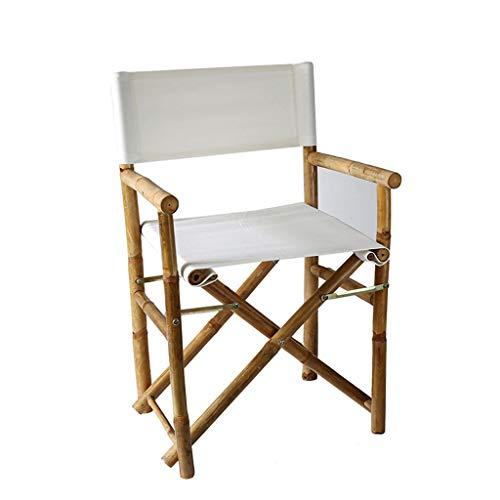 ShJttt-chair or stool Chaise de Bureau Pliante extérieure de Chaise de pêche portative de Chaise de Bureau d'ordinateur de Bureau (Couleur : Blanc)