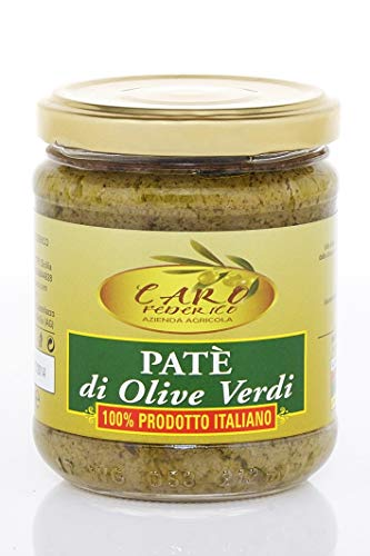 Paté di Olive Verdi Siciliane (190gr netti)