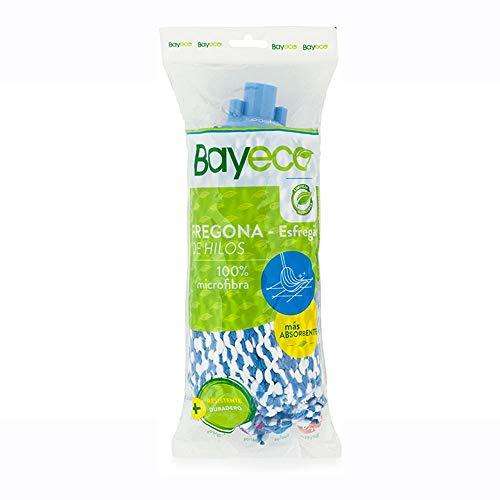 Bayeco Fregona De Hilos Microfibra Bicolor Azul 1 Unidad 125 g