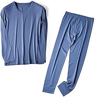 Veeology Men's Winter Thermal Underwear Set, Super Soft Thermal Underwear, with Fleece Lining