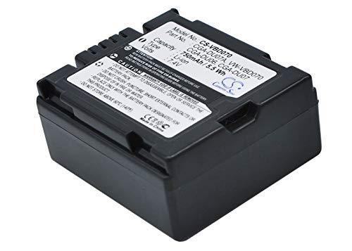 750mAh Battery for HITACHI DZ-MV730A, DZ-MV580A, DZ-M8000V6, DZ-MV750, DZ-HS401
