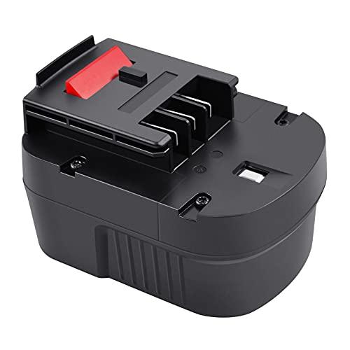 Tecmana 12V 3,5Ah Batería para Black and Decker A12 HPB12 A12E A12-XJ A12EX FSB12 FS120B FS120BX A1712