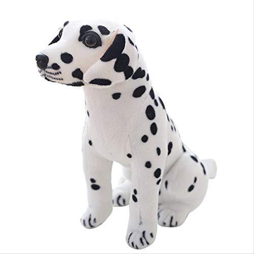 tiantian123 Simulazione Super Bambola Dalmata Simulazione Cucciolo Cane Peluche Maicho Cane Regalo di Compleanno di Natale Una Generazione 45 Cm A4